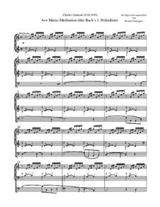 Ave Maria: Orgelfassung by Johann Sebastian Bach, Charles Gounod