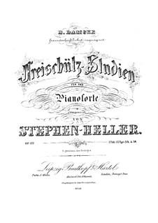 Four Etudes on 'Der Freischütz' by Weber, Op.127: Etudes No.1-3 by Stephen Heller