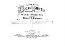 Scenes Orientale, Op.37: No.2 in B Minor by Ernest Richard Kroeger