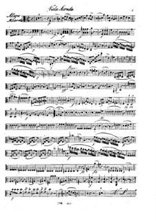 Quintet for Flute and Strings in C Major, Op.58: Viola II part by Franz Krommer