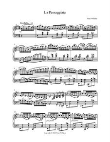 La Passaggiata, Op.124: La Passaggiata by Peter Willsher