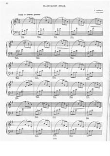 No.14 Kleine Studie (Little Etude): For piano by Robert Schumann