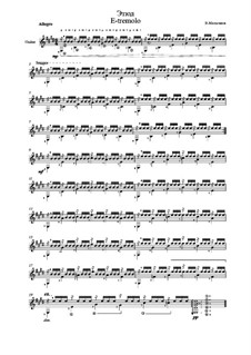 Etude E-tremolo: Etude E-tremolo by Vladimir Malganov