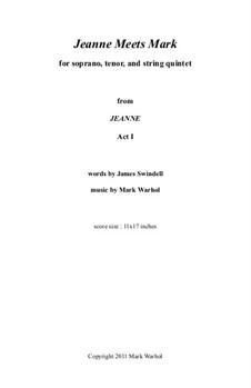 Jeanne: Jeanne Meets Mark – score by Mark Warhol