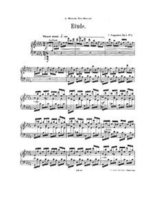 Three Pieces, Op.1: Complete set by Sergei Lyapunov