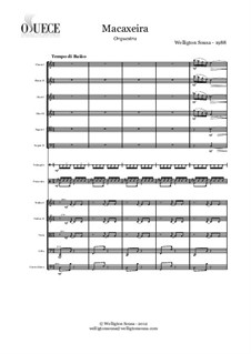 Macaxeira: For orchestra by Welligton Sousa