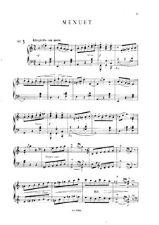 Five Pieces: No.3 Menuet, Op.14 by Mel Bonis