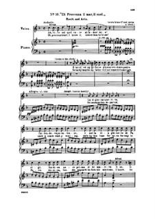 Di provenza il mar: For voice and piano by Giuseppe Verdi