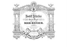 Twelve Pieces for Organ, Op.80: Pieces No.1-6 by Max Reger