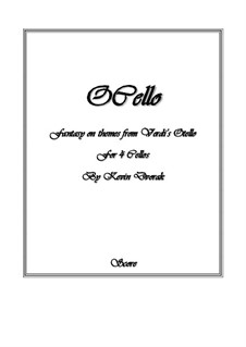 OCello for 4 Cellos: OCello for 4 Cellos by Giuseppe Verdi