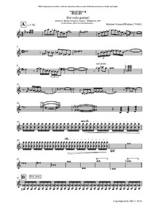 Reb - Exotic Composition for Solo Guitar: Reb - Exotic Composition for Solo Guitar by Michael Gunadi