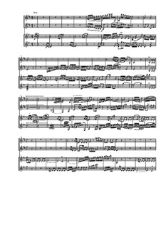 Quartet for Two Arpeggiones and Two Basset Horns, Op.12: Movement IV by Dov Rosenschein