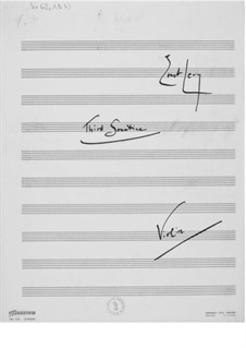 Sonatina No.3 for Violin and Piano: Violin Part by Ernst Levy