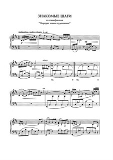 Familiar steps: For piano by Eugen Doga