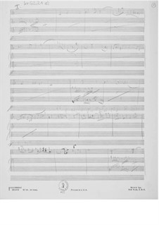 Sonata No.2 for Violin and Piano: Composer's Sketches by Ernst Levy