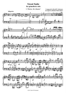 Sweet Suite: For piano by David W Solomons