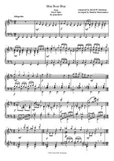 Sweet Suite: Blue Boar Blue by David W Solomons