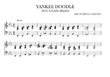 Yankee Doodle: For synthesizer (Eb Major) by folklore