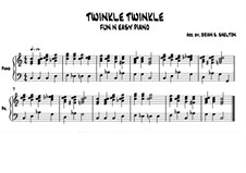 Twinkle, Twinkle Little Star: In C major by folklore