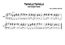 Twinkle, Twinkle Little Star: In A major by folklore