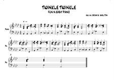 Twinkle, Twinkle Little Star: In Ab major by folklore