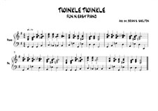 Twinkle, Twinkle Little Star: In G major by folklore