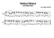 Twinkle, Twinkle Little Star: In F major by folklore
