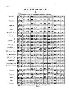 No.5 Pas de deux: Full score by Pyotr Tchaikovsky