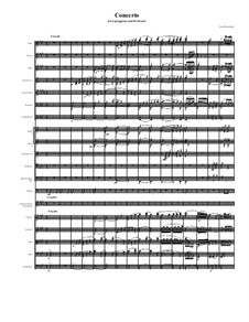 Concerto for arpeggione and orchestra: Movement I. Tranquillo by Dov Rosenschein