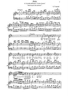 Julius Caesar in Egypt, HWV 17: Aria di Cornelia by Georg Friedrich Händel