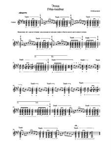 Etude F#m-Tambur: Etude F#m-Tambur by Vladimir Malganov