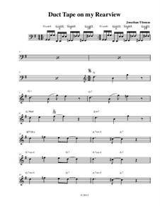 Duct Tape on my Rearview, Op.16: Duct Tape on my Rearview by Jonathan Thomas