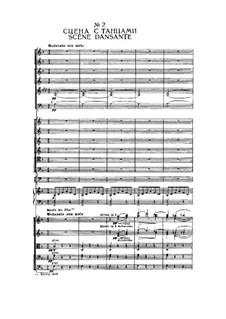 Fragments: Prologue, No.2 Scène dansante by Pyotr Tchaikovsky