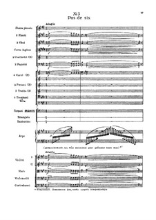 Fragments: Prologue, No.3 Pas de six by Pyotr Tchaikovsky