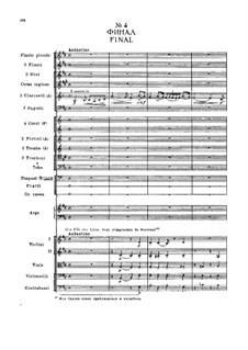 Fragments: Prologue, No.4 Finale  by Pyotr Tchaikovsky