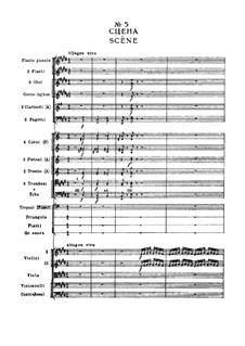 Fragments: Act I, No.5 Scène by Pyotr Tchaikovsky