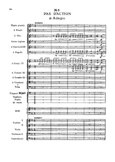 Fragments: Act I, No.8 Pas d'action by Pyotr Tchaikovsky