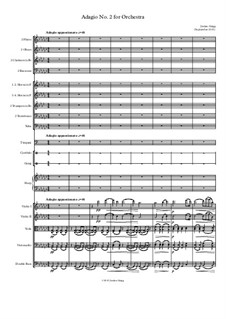 Adagio No.2 for Orchestra: Adagio No.2 for Orchestra by Jordan Grigg
