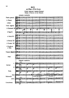Fragments: Act II, No.15 Pas d'action by Pyotr Tchaikovsky
