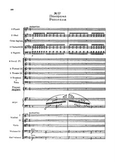 Fragments: Act II, No.17 Panorama by Pyotr Tchaikovsky