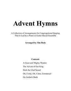 Advent Hymns: Advent Hymns by Michael Praetorius, Aaron Williams, Thomas Haweis