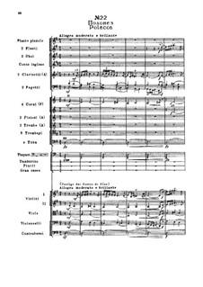 Fragments: Act III, No.22 Polacca by Pyotr Tchaikovsky