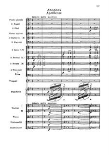 Fragments: Act III. Apothéose by Pyotr Tchaikovsky