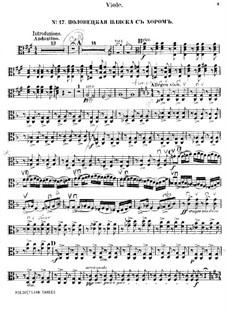 Polovtsian Dances: Viola part by Alexander Borodin