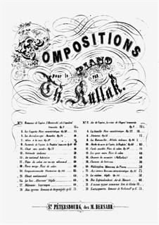 Romance de Dargomijsky, Op.65: Romance de Dargomijsky by Theodor Kullak