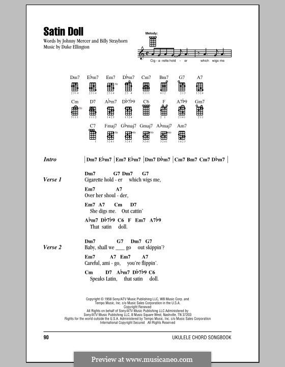 Satin Doll: For ukulele by Billy Strayhorn, Duke Ellington
