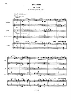 Les fêtes de Polymnie (The Festivals of Polyhymnia), RCT 39: Act I, Scenes I-III by Jean-Philippe Rameau