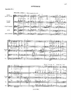 Les fêtes de Polymnie (The Festivals of Polyhymnia), RCT 39: Appendixes by Jean-Philippe Rameau