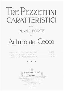 Tre Pezzettini: No.1 Vecchio Molino by Arturo de Cecco