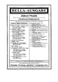 Celesta, Op.544: Celesta by Ferdinand Kollmaneck